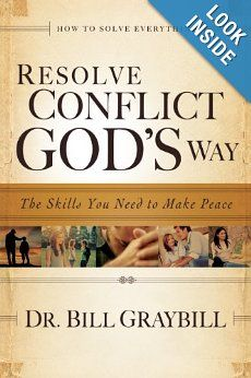 Recommended reading for anyone who deals with conflict...and that would be everybody!
