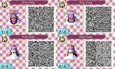 Animal crossing qr code Zelda's Robe