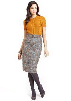 AMELIA Metallic  Skirt $39.99