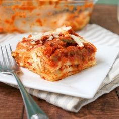 Hoopla Chicken Lasagna- a Mexican twist on a classic!