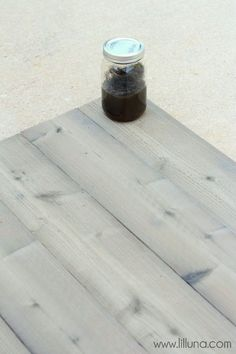 How To Make Wood Look Grey