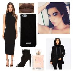 """Today I'm in black #41# kk"" by kimk7 ❤ liked on Polyvore featuring Theory, River Island, Givenchy, Kylie Cosmetics, Pepe Jeans London and Chanel"