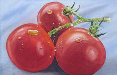 Tomatoes - Watercolor