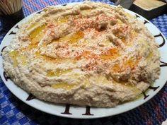 Receta de Humus de Líbano