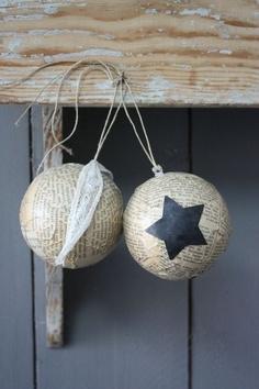 Décor de boules / Decoration balls