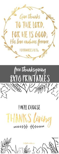 free 8x10 thanksgivi