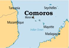 Around the World in 235 Days ~ Day #8 (April 11, 2012): Pray for Comoros (Africa).