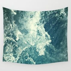 Wall Tapestry featuring Water III by Dr. Lukas Brezak