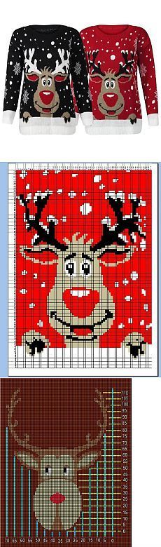 I so want a jumper with this guy on! Knitting Paterns, Knitting Charts, Knitting Stitches, Free Knitting, Knitting Projects, Baby Knitting, Knitting For Kids, Crochet For Kids, Christmas Knitting