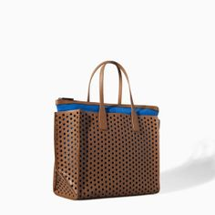 ZARA - NEW THIS WEEK - PERFORATED SHOPPER BAG