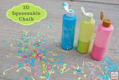 A Glimpse Inside: 3D Chalk Recipe