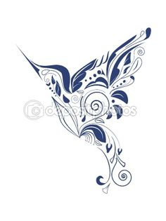 Hummingbird by 578foot - Stock Vector