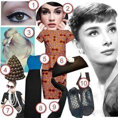 Audrey Hepburn Style · DIY The Look · Cut Out + Keep Craft Blog