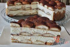 Tiramisu in cake form Top-Rezepte.de - One of the best desserts. I make this dessert often, but not always in a springform pan. Trifle Desserts, Pudding Desserts, Strawberry Desserts, Easy Desserts, Delicious Desserts, Thermomix Desserts, Gluten Free Desserts, Czech Recipes, Spring Desserts
