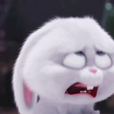 Funny Faces Images, Cute Cartoon Drawings, Cute Cartoon Pictures, Cartoon Gifs, Cute Cartoon Wallpapers, Cute Bunny Cartoon, Cute Love Cartoons, Snowball Rabbit, Animated Emoticons