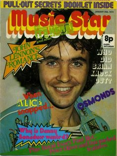 Music star magazine (1970s - Best pop mag ever (much better than Smash hits!)