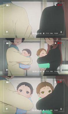 Free! Iwatobi Swim Club - Baby Haru and baby Makoto