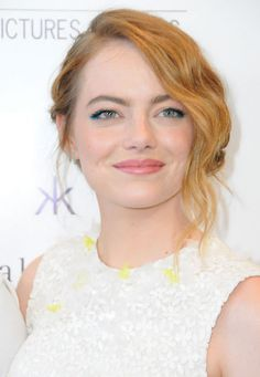 Two Things That Are Pretty and Blue: Emma Stone's Eyelids and Kylie Jenner's Hair