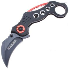 Tac-Force TF-578BK Karambit A/O Finger Ring Knife | MooseCreekGear.com | Outdoor Gear — Worldwide Delivery! | Pocket Knives - Fixed Blade Knives - Folding Knives - Survival Gear - Tactical Gear