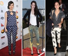 Haute on the Spot: Style: What to Wear with Patterned Pants?