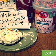 Bake something special with Betty Crocker and use Loot App to take a photo to earn cash instantly! #Loot #LootApp #BakedGoods #Food #BettyCrocker http://lksn.se/loot