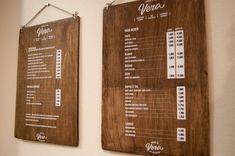 Vera-Love these hanging menus.