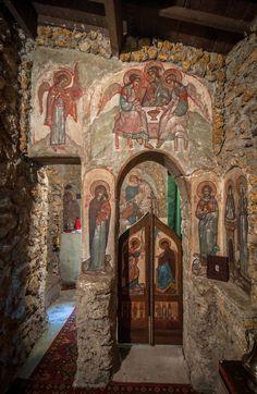 Fresco, Church Icon, Saint Esprit, Church Interior, Byzantine Art, Church Building, Chapelle, Orthodox Icons, Tempera