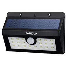 20 Lampe Solaire Jardin led sans fil, Mpow Luminaire Exterieur Détecteur de Mouvement avec Trois Modes Intelligents / Eclairage Exterieur…
