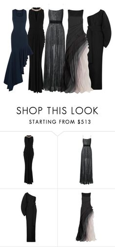"""""""nights"""" by dodo85 on Polyvore featuring Alexander McQueen, STELLA McCARTNEY, Solace, Halston Heritage and Michael Lo Sordo"""