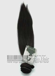 1Bundle / Lot Brazilian Virgin Hair Extensions Straight