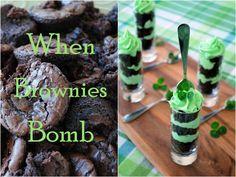 When Brownies Bomb Mini Trifles