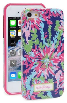 Lilly Pulitzer® 'Trippin and Sippin' iPhone 5 & 5s Case available at #Nordstrom