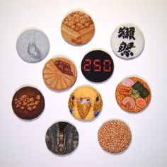 project - ipnot Hand Embroidery, Embroidery Ideas, Punch Tool, Punch Needle, Textile Art, Elsa, Decorative Plates, Cross Stitch, Textiles