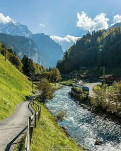 Luscious greens around Canton of Bern, Photo by Explore. Landscape Photography, Nature Photography, Travel Photography, Places To Travel, Places To Visit, Travel Destinations, Beautiful Places In The World, Nature Scenes, Belle Photo