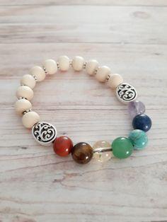 7 Chakras, Desi, Beaded Bracelets, Jewelry, Fashion, Indian Bangles, Beaded Wrap Bracelets, Handmade Jewelry, Jewelry Ideas