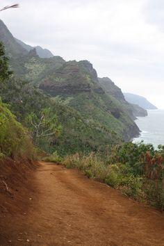 Kalalau Trail, Kauai. #hike