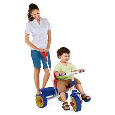 Triciclo Smart Basic – Branco e Azul