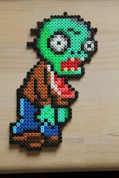 Plants vs. Zombies hama beads by Sanne Junkuhn http://mistertrufa.net/librecreacion/culturarte/?p=12