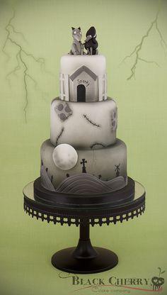 Frankenweenie Cake - :D