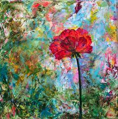 """""""Fearless Poppy"""" www.brendaallison.com 559-285-4311"""