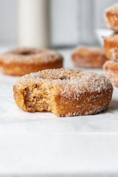 These gluten free apple cider donuts are fluffy, soft, and bursting with fresh apple cider flavor! They are way better than any pumpkin patch or apple orchard. In addition, these gluten free donuts have a sweet cinnamon sugar coating. They are quick and easy and so delicious! Why You'll Love This Recipe These gluten free […] The post Gluten Free Apple Cider Donuts appeared first on Organically Addison.
