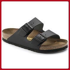 Birkenstock Arizona Sandal Black Leather Size 39 - All about women (*Amazon Partner-Link)