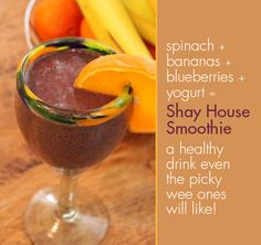 A smoothie even the kids will love! #smoothies #healthy #fruit #yum