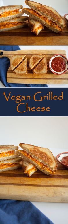 Vegan Grilled Cheese - This go-to comfort food is what I make when I don't feel like cooking.: