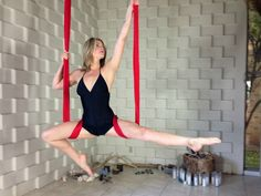 Diaper Wrap w/Split Variation by Stephanye of Ajna Life  Aerial yoga & dance in the hammock, silks, lyra and trapeze. Tutorials, pose references and lifestyle at ajnalife.com