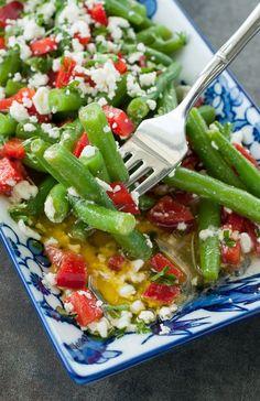 Greek Green Bean Picnic Salad