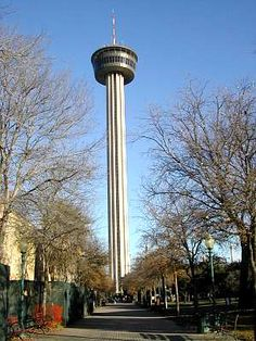 The Hemisfair Tower -   San Antonio, TX the name is the tower of the americas...