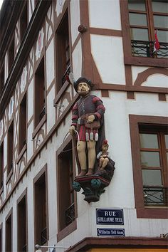 Mulhouse - Guillaume Tell. Alsace