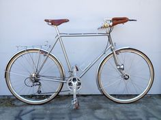 1983 Trek 720 Touring bike rebuilt by Oakland, CA's Brazen Bicycles