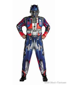 Transformers Optimus Prime Deluxe Adult Bring a futuristic super hero back  in time to the 21st 4f3d2cf18e6